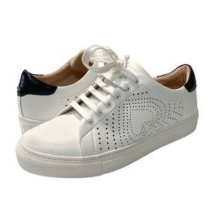 NWOB Kate Spade Ashlyn white leather sneakers, 7.5